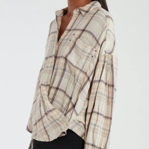 Free People We The Free Hidden Valley Buttondown S